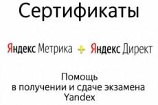 Сертифицированный специалист по Яндекс директу и Яндекс метрике 3 - kwork.ru