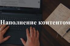 Наполнение контентом сайта на Битрикс, WordPress, Jumla 22 - kwork.ru
