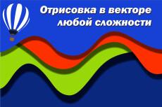 Переведу ваш логотип или изображение в вектор 24 - kwork.ru