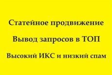 Статейный прогон по 15 жирным трастовым сайтам 4 - kwork.ru