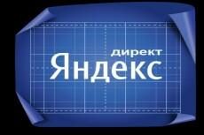Настройка контекстной рекламы Яндекс Директ 20 - kwork.ru
