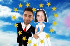 Свадебная открытка 28 - kwork.ru