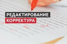 Сделаю из текста конфетку. Редактура и корректура любого текста 10 - kwork.ru