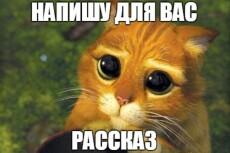 напишу рассказ, сказку 5 - kwork.ru
