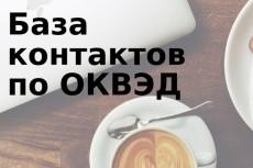 Соберу базу организаций с e-mail по отраслям, парсинг Яндекс карт 8 - kwork.ru