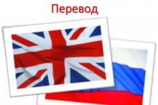 Литературный перевод с английского на русский - до 5 000 символов 11 - kwork.ru
