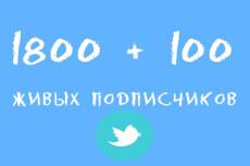 1 Прокачанный Твиттер аккаунт 2015 года Twitter Audit 98%+ 8 - kwork.ru