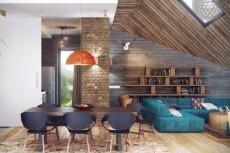 3д визуализация, экстерьер дома и дизайн фасадов 37 - kwork.ru