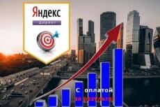 Создам и настрою рекламную компанию в Яндекс.Директ 13 - kwork.ru