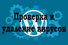 Найду и Удалю вирусы с Wordpress 14 - kwork.ru