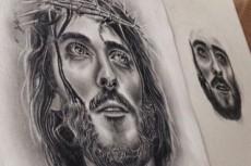Нарисую портрет в стиле масло, карандаш, уголь, пастель 37 - kwork.ru