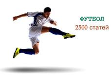 Футбол готовый автонаполняемый сайт 1000 статей 8 - kwork.ru