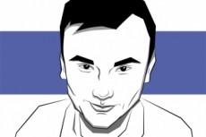 Портрет. векторная графика 24 - kwork.ru