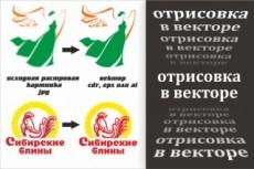 Перерисую растровую картинку в вектор 42 - kwork.ru
