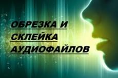Обрежу любой участок аудио файла 18 - kwork.ru