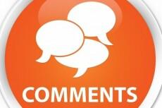 Размещу 25 комментариев на страницах вашего сайта 11 - kwork.ru