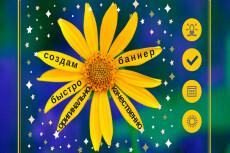 2 красивых баннера для сайта или соц. сетей 61 - kwork.ru