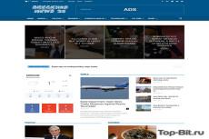 Автонаполняемый новостной сайт - World News - на WordPress 5 - kwork.ru