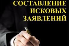 Составлю иск в суд общей юрисдикции, арбитраж, отзыв на иск 22 - kwork.ru