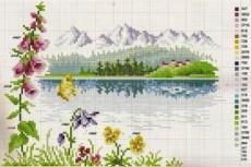 Схема вышивки крестиком по вашему фото, рисунку 6 - kwork.ru