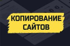 Скопирую landing page, одностраничный сайт, рабочие формы 208 - kwork.ru