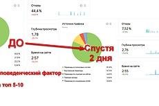 Выведу сайт по ключевым запросам в топ Яндекса Гугла 3 - kwork.ru