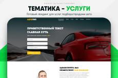 Скопировать Landing page, одностраничный сайт, посадочную страницу 233 - kwork.ru