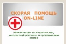 Консультация по продвижению сайта (SEO) 23 - kwork.ru
