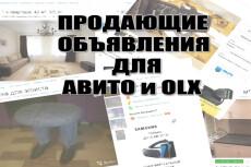 Напишу 2 продающих объявления для Avito или Юлы 5 - kwork.ru