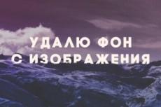 Удаление фона с изображения 13 - kwork.ru