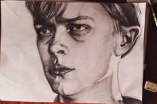 Простой карандаш и краски, портрет по Вашему фото 22 - kwork.ru