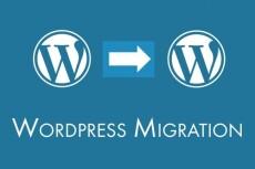 Перенесу Wordpress сайт на другой хостинг или на новый домен 13 - kwork.ru