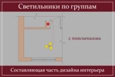 Дизайн интерьера 44 - kwork.ru