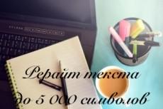 Напишу уникальный текст, копирайт или рерайт 13 - kwork.ru