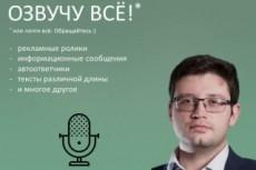 Озвучу ваш текст или видео или иное 14 - kwork.ru