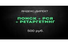 Рекламная кампания РСЯ Яндекс Директ на 100 ключей 31 - kwork.ru