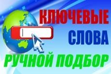 Соберу все ключи по 20 запросам из базы Пастухова 17 - kwork.ru