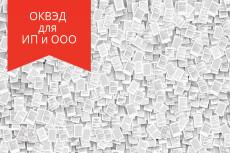 Подбор кодов ОКВЭД для ведения деятельности 9 - kwork.ru