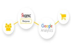 Установлю Google Analytics, Яндекс Метрику, настройка целей 20 - kwork.ru