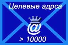 Соберу минимум 20000 email вашей целевой аудитории 6 - kwork.ru