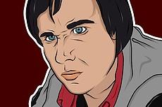 Нарисую векторный портрет по вашей фотографии 18 - kwork.ru