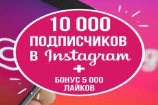30000 лайков в instagram 15 - kwork.ru