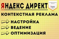 Ведение контекстной рекламы Яндекс.Директ - 1 неделя 9 - kwork.ru