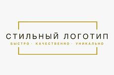 Сделаю стильный логотип 11 - kwork.ru