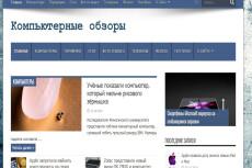 Продам компьютерный блог есть демо 4 - kwork.ru