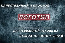 Сделаю простой и красивый логотип по вашим эскизам, идеям 12 - kwork.ru