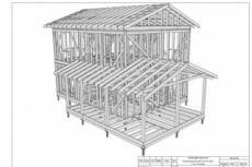 Сделаю 3D проект каркасного дома 8 - kwork.ru