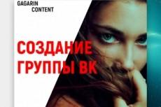Создам 35 записей для вашей группы вконтакте 11 - kwork.ru