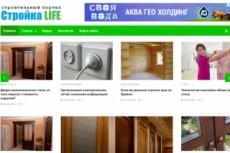Продам автонаполняемый сайт. Портал о туризме и путешествиях 13 - kwork.ru