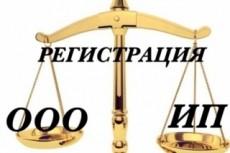 Документы для регистрации ИП и ООО 8 - kwork.ru
